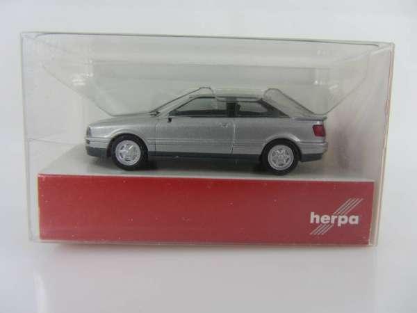 HERPA 34005 1:87 Audi Coupe silbern neu mit OVP