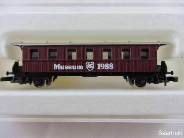Märklin Spur Z Museumswagen 1988 Personenwagen neuwertig mit Originalverpackung