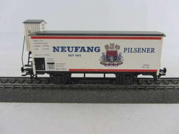 Basis 4680 Bierwagen Neufang Bier Saarbrücken, Sondermodell, neuwertig mit Verpackung