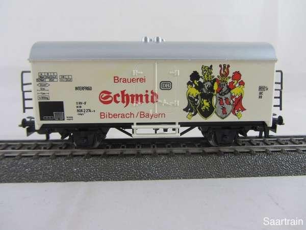 Märklin Basis 4415 Bierwagen Brauerei Schmidt SOMO gebraucht ohne Verpackung