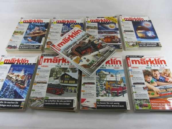 9 Jahrgänge Märklin Magazin (53 Hefte) von 2005-2013 sehr guter Zustand