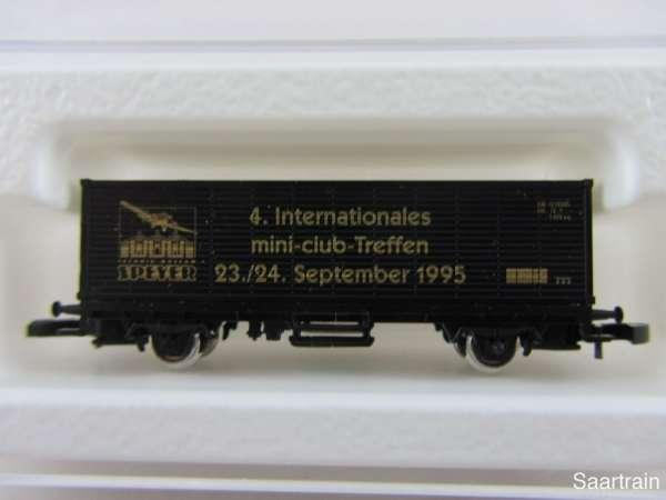 Märklin 8615 Containerwagen 4. Z Treffen Speyer / Rolls Royce 1995 mit OVP