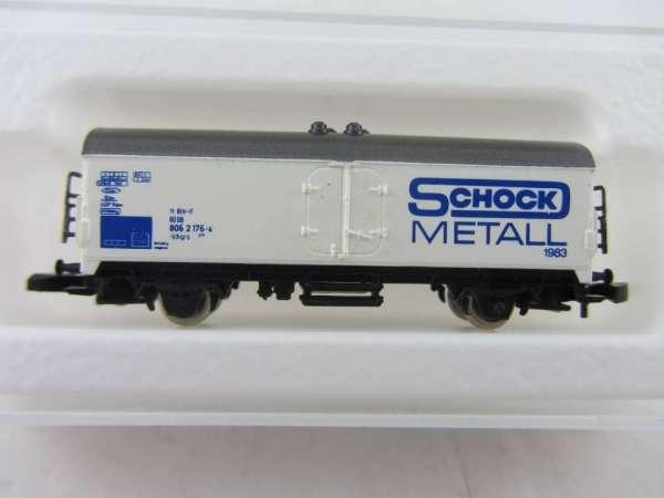 Märklin 8600 Kühlwagen Sondermodell Schock Metall 1983 mit Originalverpackung