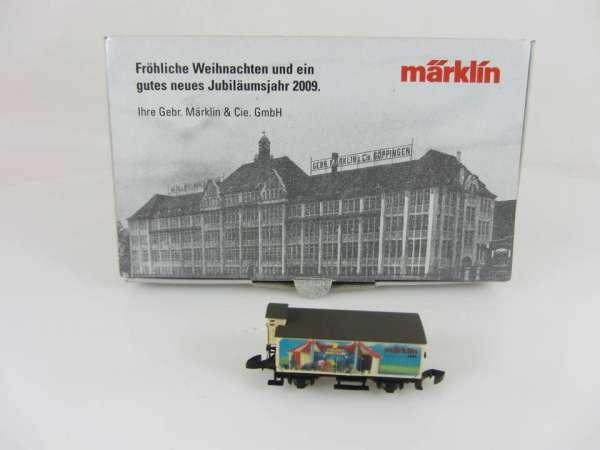 Märklin Sondermodell Jahreswechsel 2008/09 G10 (Basis 8661) Cirkus Mondolino