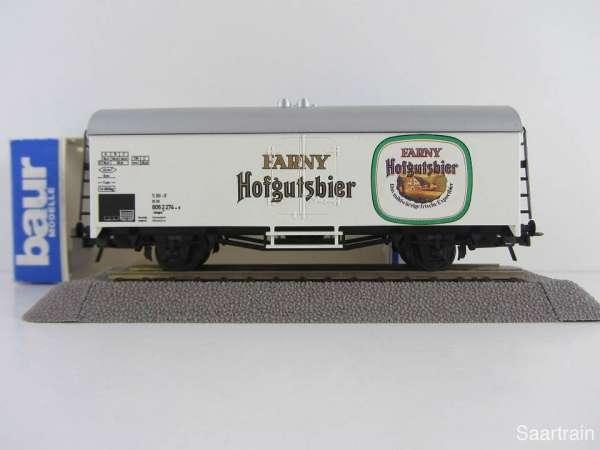 Baur Nr. 219 HO Bierwagen Farny Hofgutbier weiß Neu mit Originalverpackung