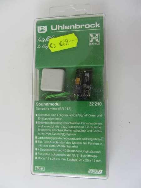Uhlenbrock 32210 Soundmodul (Decoder mit Lautsprecher) neu und originalverpackt