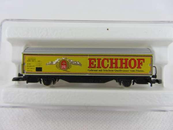 Basis 8656 Schiebewandwagen Habis Eichhof Bier Schweiz Bierwagen SBB m. OVP