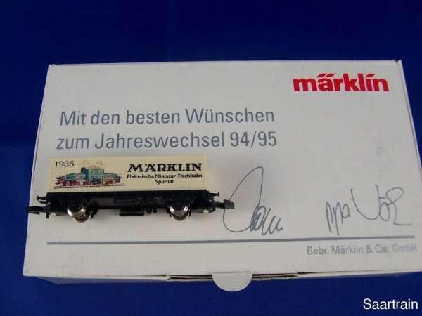 Märklin Sondermodell Jahreswechsel 1994/95 Containerwagen Märklin HO/OO mit OVP