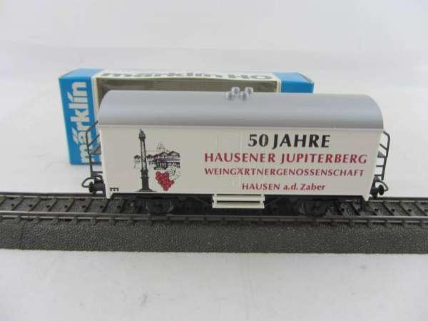Märklin Basis 4415 Werbewagen Weihgärtnergen. Hausen, Sondermodell, neu und mit OVP