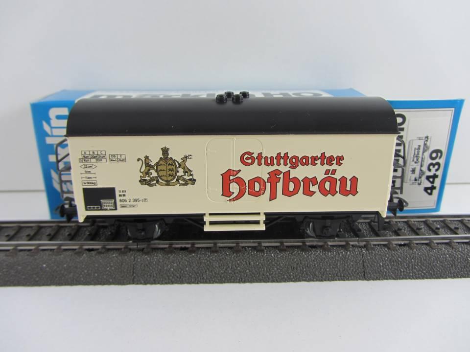 Märklin 4439 Bierwagen Stuttgarter Hofbräu neuwertig und mit Originalverpackung