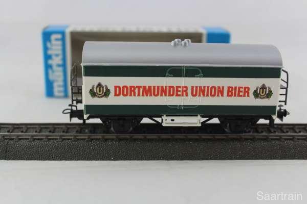 Märklin Basis 4415 Bierwagen Dortmunder Union Bier Sondermodell, neu und mit OVP