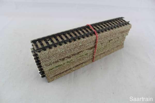 Märklin 5106 10 Stück gerades M-Gleis, gebraucht guter Zustand, ohne Verpackung