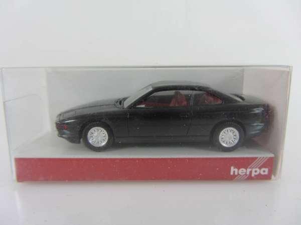 HERPA 24143 1:87 BMW 850i schwarz neu mit OVP