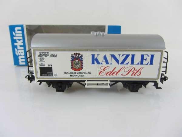 Märklin Basis 4415 Bierwagen Kanzlei Edel-Pils Sondermodell, mit OVP