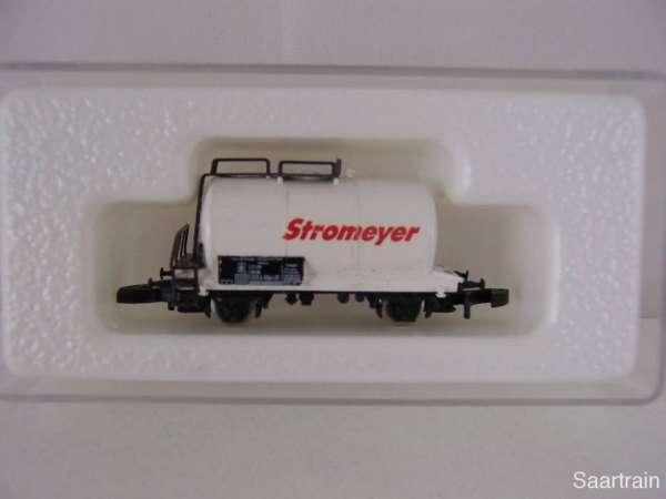 Märklin 8612 Kesselwagen 2 achsig Stromeyer Neu mit Originalverpackung