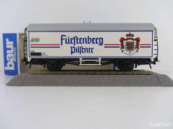 Baur Nr. 179 HO Bierwagen Fürstenberg Pilsner weiß Neu mit Originalverpackung